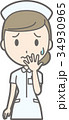 女性 看護師 ベクターのイラスト 34930965