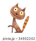 ねこ ネコ 猫のイラスト 34932242