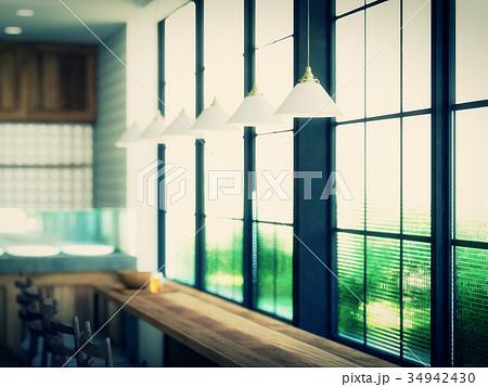 窓際の風景のイラスト素材 34942430 Pixta