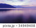 奥琵琶湖の夜明け 34949408