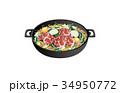 今日のご飯ジンギスカン鍋 34950772