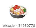 今日のご飯スンドゥブ鍋 34950778