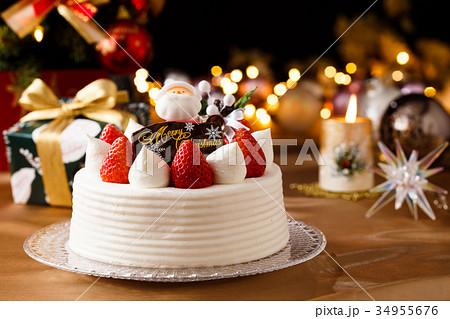 クリスマスケーキ 34955676