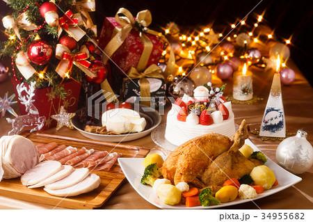 クリスマスパーティー クロスフィルター 34955682