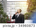 男性 人物 電話の写真 34960873