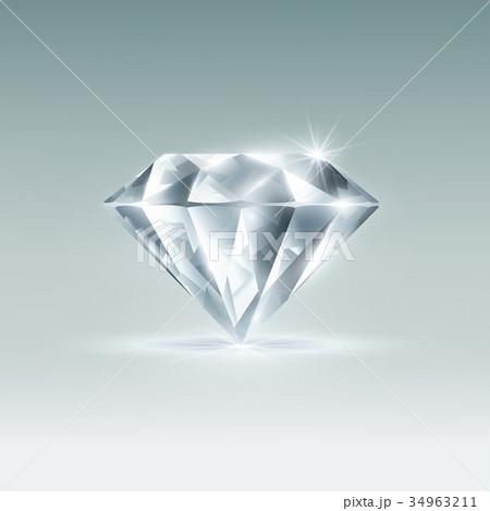 Vector diamond 34963211