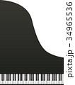 グランドピアノ 34965536