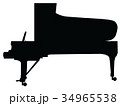 グランドピアノ 34965538