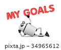 目的 目標 ゴールのイラスト 34965612