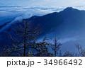雲海 朝 御坂山地の写真 34966492