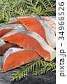 鮭 生鮭 秋鮭の写真 34966526