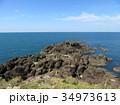 海 日本海 岩の写真 34973613