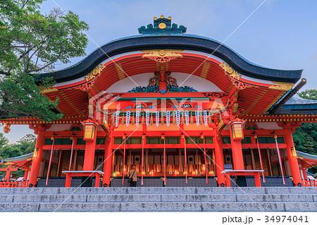 京都 伏見稲荷大社 本殿 34974041