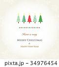 クリスマスカード 34976454