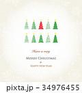 クリスマスカード 34976455