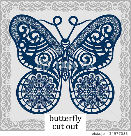 Butterfly - a template for laser cutting 34977088