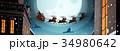 ベクター そり 橇のイラスト 34980642