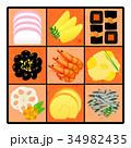 おせち料理 34982435