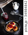パンケーキ 揚げ 手作りの写真 34984842
