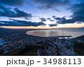 《北海道》函館の夜明け 34988113