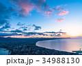 《北海道》函館の夜明け 34988130