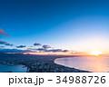 《北海道》函館の夜明け 34988726