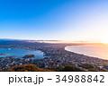 《北海道》函館の夜明け 34988842