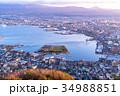 《北海道》函館の夜明け 34988851