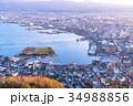 《北海道》函館の夜明け 34988856