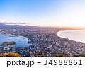 《北海道》函館の夜明け 34988861