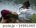 女性 バックパッカー 旅行の写真 34991460