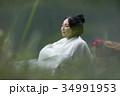 女性 旅行 一人旅の写真 34991953