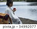 女性 旅行 一人旅の写真 34992077