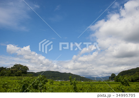 青空白雲 34995705