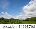 雲 空 青空の写真 34995708