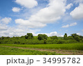 雲 空 青空の写真 34995782