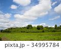 雲 空 青空の写真 34995784