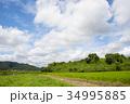 雲 空 青空の写真 34995885
