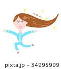 ツヤツヤの髪の毛 34995999