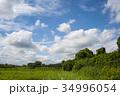 雲 青空 白雲の写真 34996054