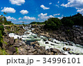 曽木の滝 滝 東洋のナイアガラの写真 34996101