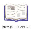 開いた本 34999376