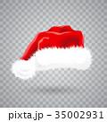 クリスマス サンタ サンタクロースのイラスト 35002931