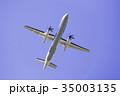 飛行機 旅客機 航空機の写真 35003135