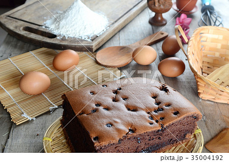 Taiwanese sponge cakeの写真素材 [35004192] - PIXTA