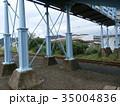 コロニアル調の跨線橋 35004836