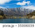 ニュージーランド クイーンズタウン ワカティプ湖 クルーズ船上からの風景 35006039