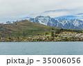 ニュージーランド クイーンズタウン ワカティプ湖 クルーズ船上からの風景 35006056