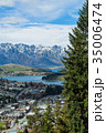ニュージーランド クイーンズタウン スカイライン・ゴンドラからの風景 35006474