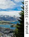 ニュージーランド クイーンズタウン スカイライン・ゴンドラからの風景 35006475